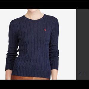 Ralph Lauren Cable Knit Cotton Sweater